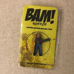 Motel Hell Bam Box Exclusive Enamel Pin